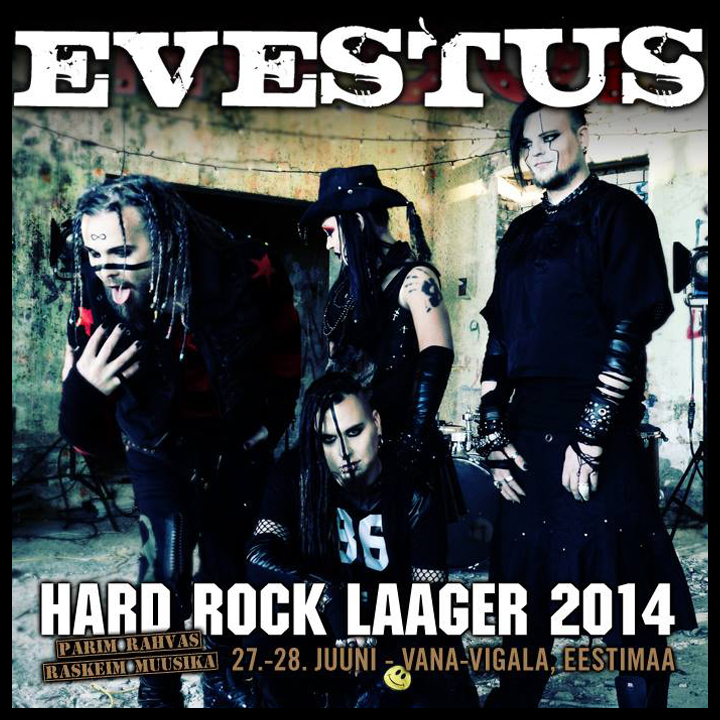 Evestus hard rock laager 2014