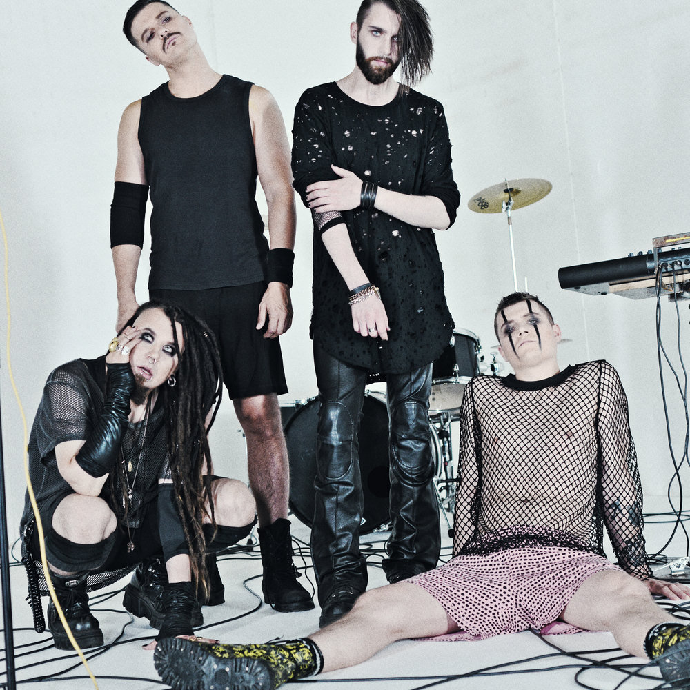 Evestus 2019 industrial rock band promo