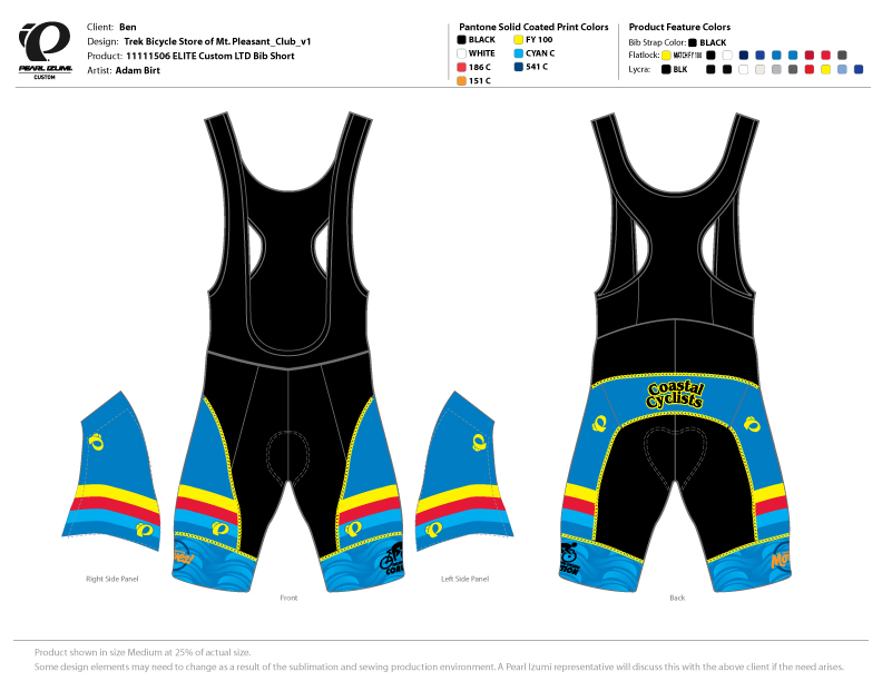 2015 Bib/short design