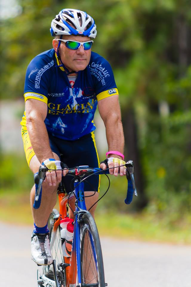 Brian S. at the Trek Cancer Ride