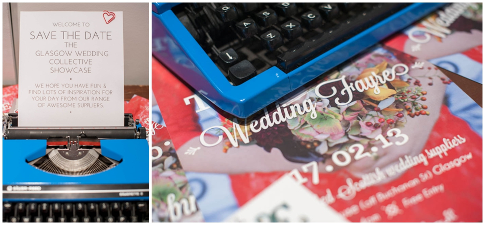 Glasgow Wedding Collective Fayre - Feb 2013