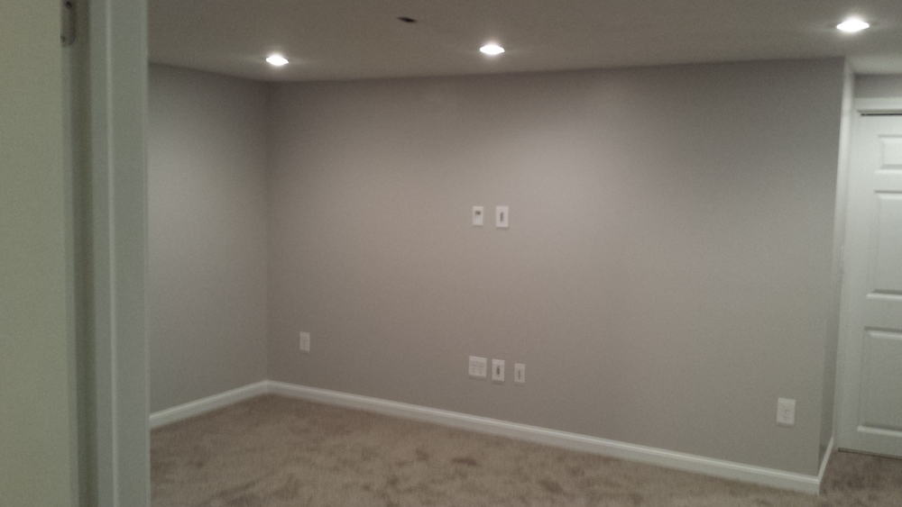 Before and After Basement
