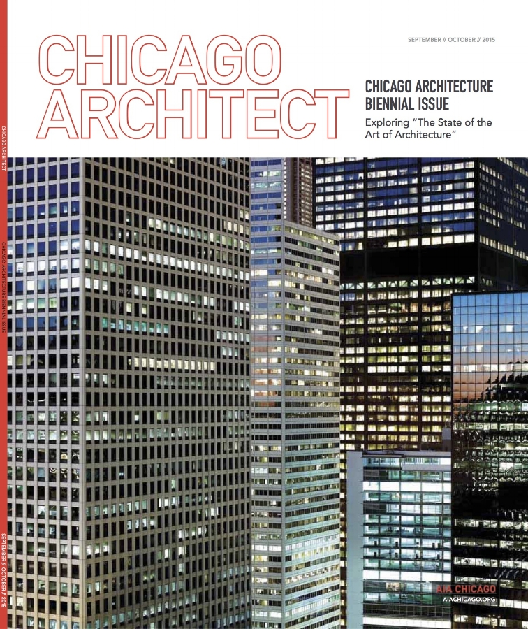 Editor, Chicago Architect magazine (2013-2015)