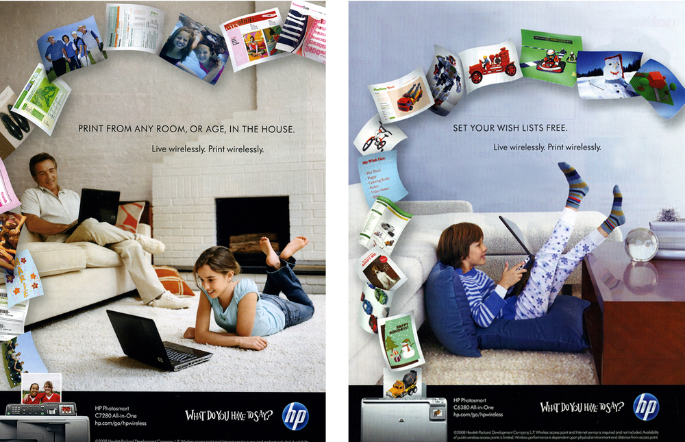 Hewlett Packard / paper streams