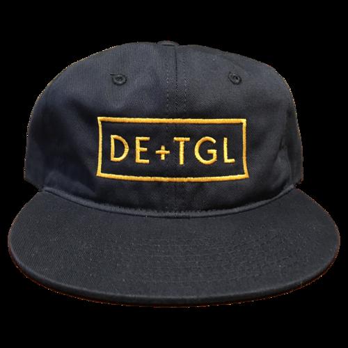 5f5e054955b DE+TGL Logo Dad Hat (Navy Blue