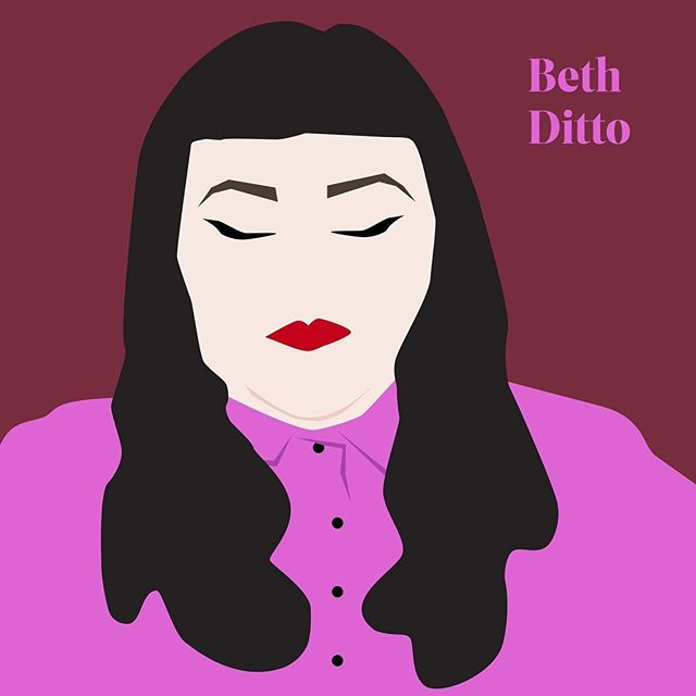 I'm just so proud of my coworker/desk buddy/soon to be CrossFit friend @neon.cactus We asked everyone @friends_neighbors which woman inspires them for #internationalwomensday & she killed it on these illustrations. I picked @bethditto because she was one of the first female rockstars who had a body that looked like mine & she performed unapologetically & she was so fierce on stage & she was herself. She opened up my whole world to other fat babes who don't conform to what society tells them to be & proves to others that our weight shouldn't determine our worth. Also I fucking love her voice. Go check out @friends_neighbors for more cool stuff.