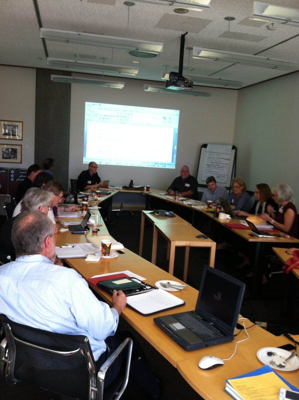 1st Meeting of CCCAP in DC in September 2012