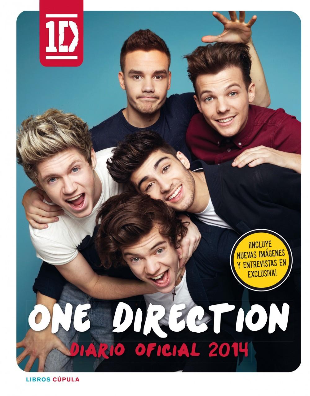 ¿No puedes esperar al final del concurso?  Puedes comprar aquí el Diario Oficial 2014 de One Direction.