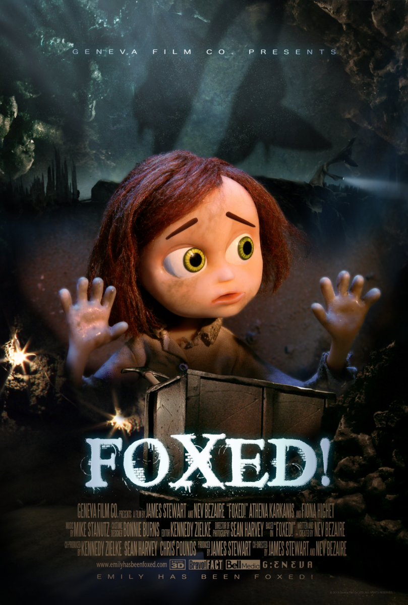 Foxed! Official Movie Poster/ One-Sheet