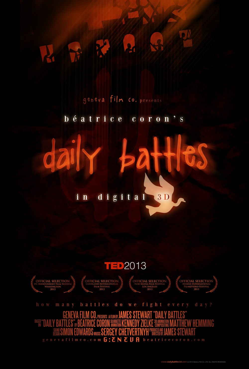 Béatrice Coron's Daily Battles Official Poster/One-Sheet