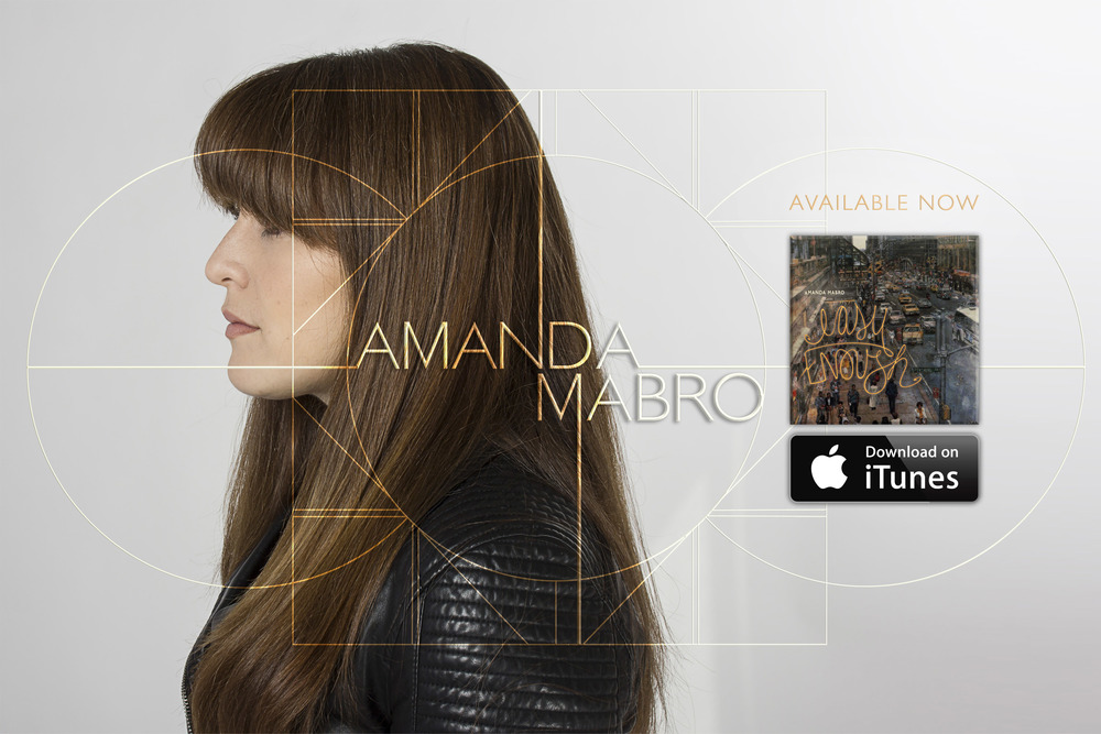 Amanda Mabro Website Splash Page