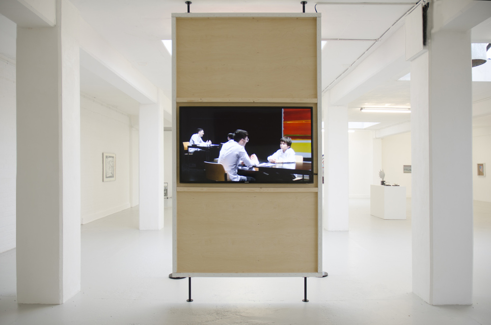 Simon Fujiwara,  The Mirror Stage,  2009 - ongoing, mixed media, dimensions variable, video 27:41 minutes