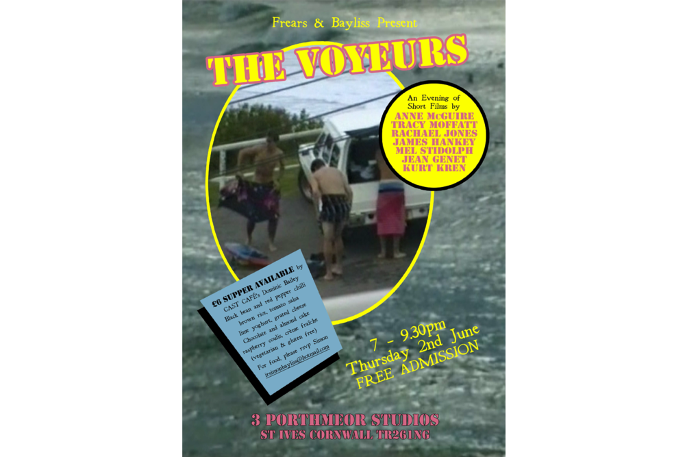 The Voyeurs , poster design