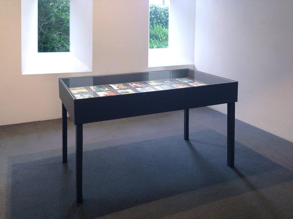 Installation view, Newlyn Art Gallery,  En plein air paintings (St Ives / Victoria Park),  2016-17
