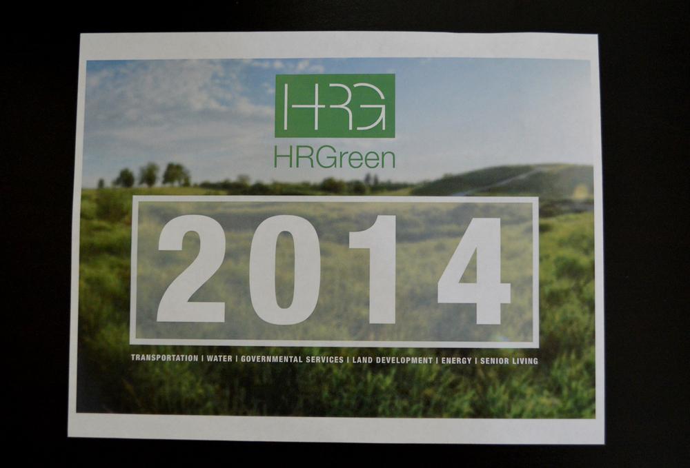 HRG Calendar Cover Mockup