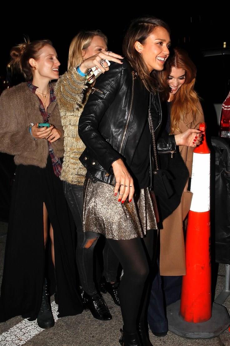Jessica Alba, Sam & Lavi