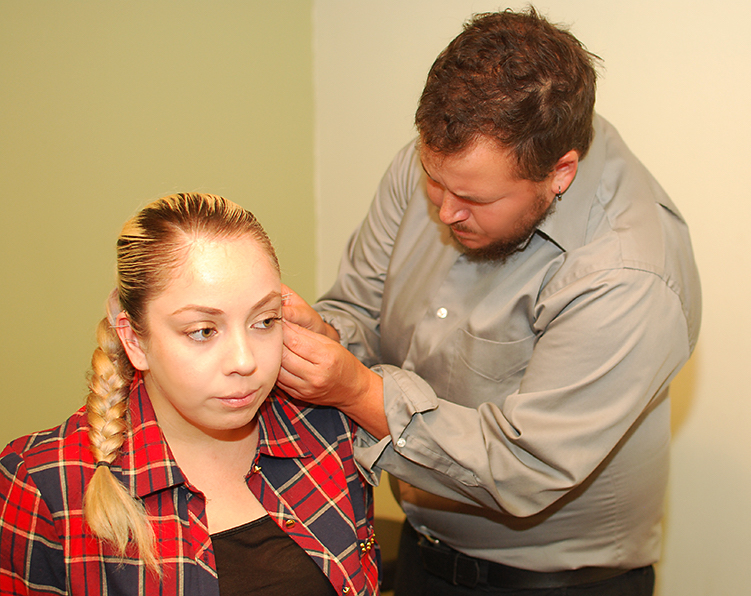 Ear Acupuncture Treatment - Community Style Acupuncture