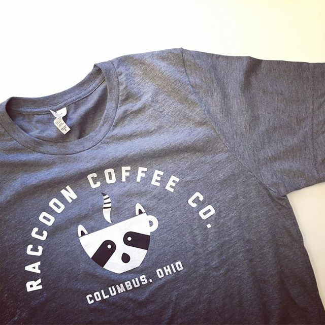 Ladies and gents, the wait is over!  We finally have  Raccoon Coffee Co. T shirts for sale! Stop by #oaklandnursery Sat to grab yours.