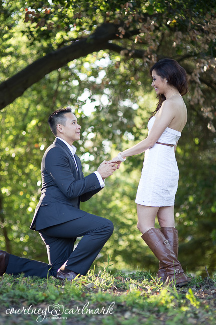 Engagement reenactment :)
