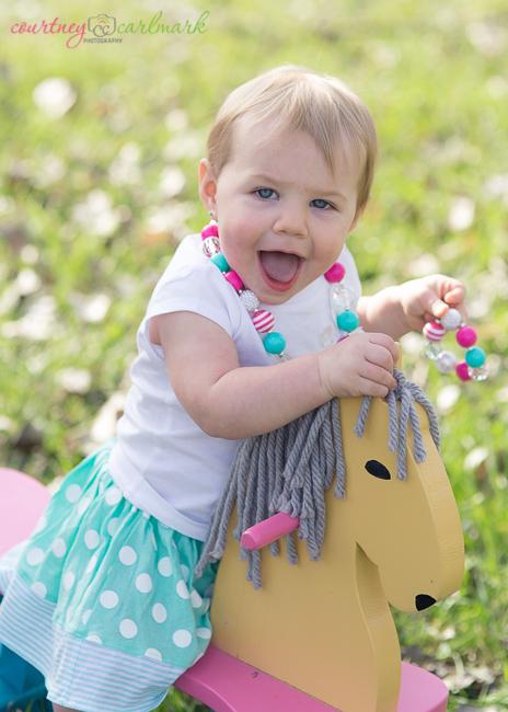 Little girls love jewelry!