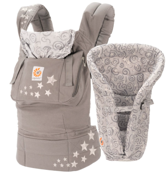 Ergo carrier with infant insert