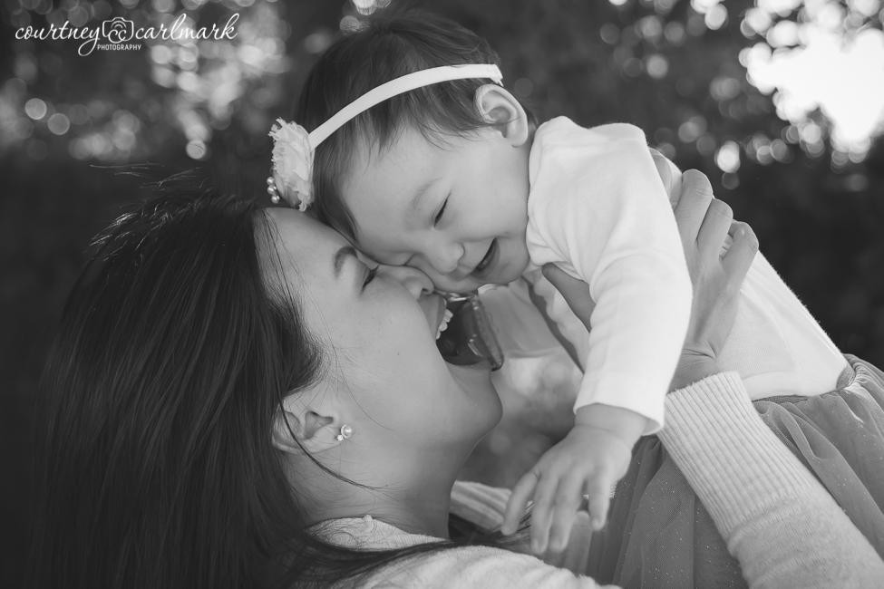She loves her mommy!
