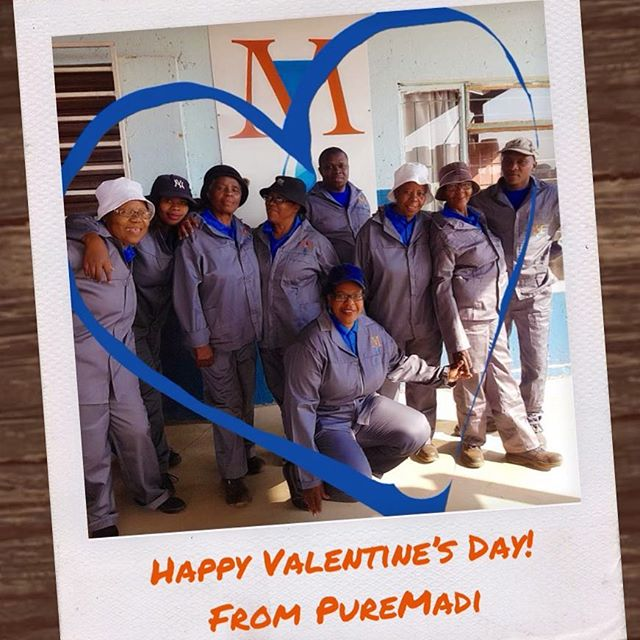 We would just like to take this opportunity to tell you how much WE LOVE YOU for supporting our endeavors! PureMadi's mission is to prevent waterborne diseases through educating, training, and empowering resource-limited communities to produce and distribute an innovative point-of-use water treatment technology.  We cannot do this without all of the support we have received from our friends, our families, and the wonderful people we get to work. #wateris #waterforall #waterislife #ig_africa #education #waterforafrica #southafrica #hammanskraal #collaborate #empower #instagood #globalgoals #safewater #cleanwater #puremadi #happyvalentinesday