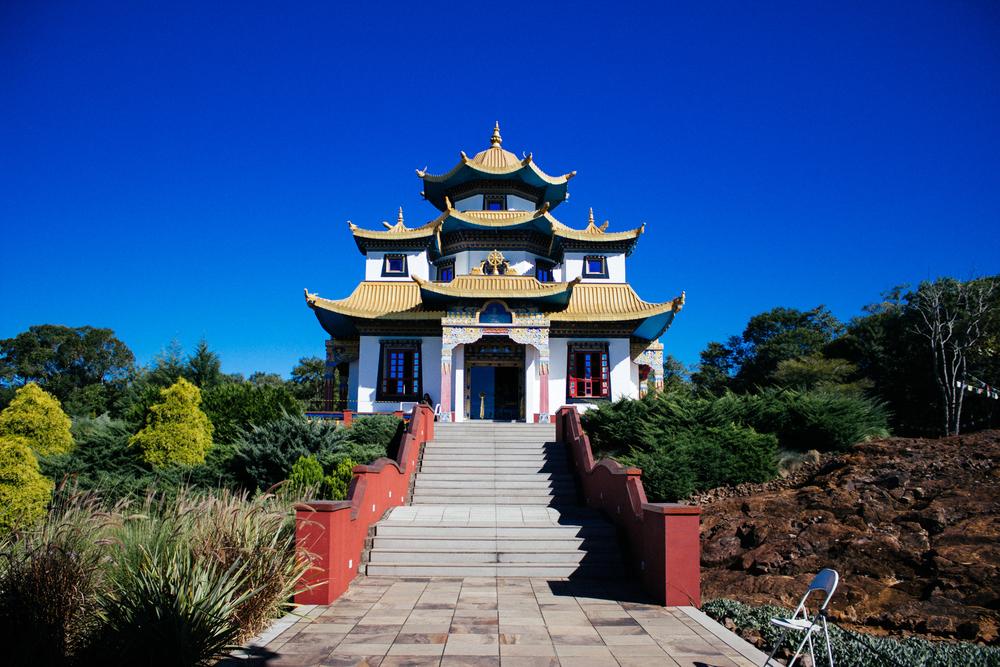 Frente do templo