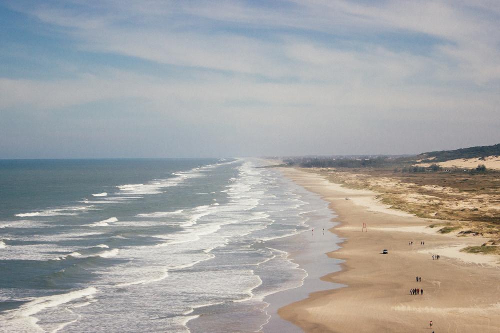 Praia ao lado da Guarita
