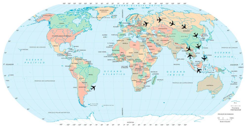 Em 6 meses já passaram pela Rússia, Mongólia, China, Hong Kong, Filipinas, Indonesia, Tailândia e Laos. E vai ter mais!