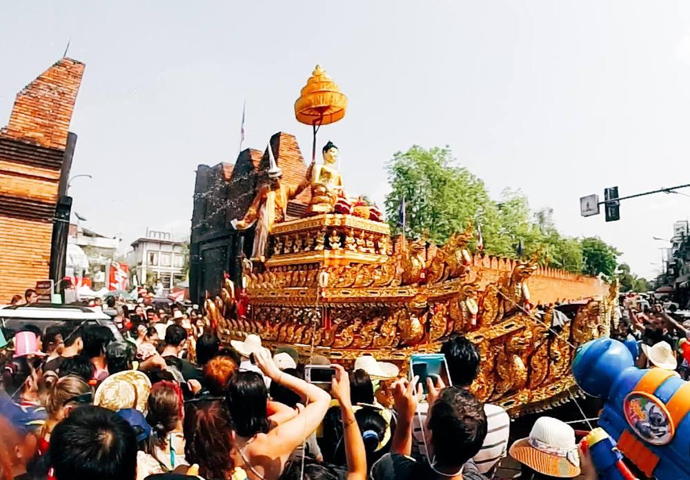songkran festival água tailândia