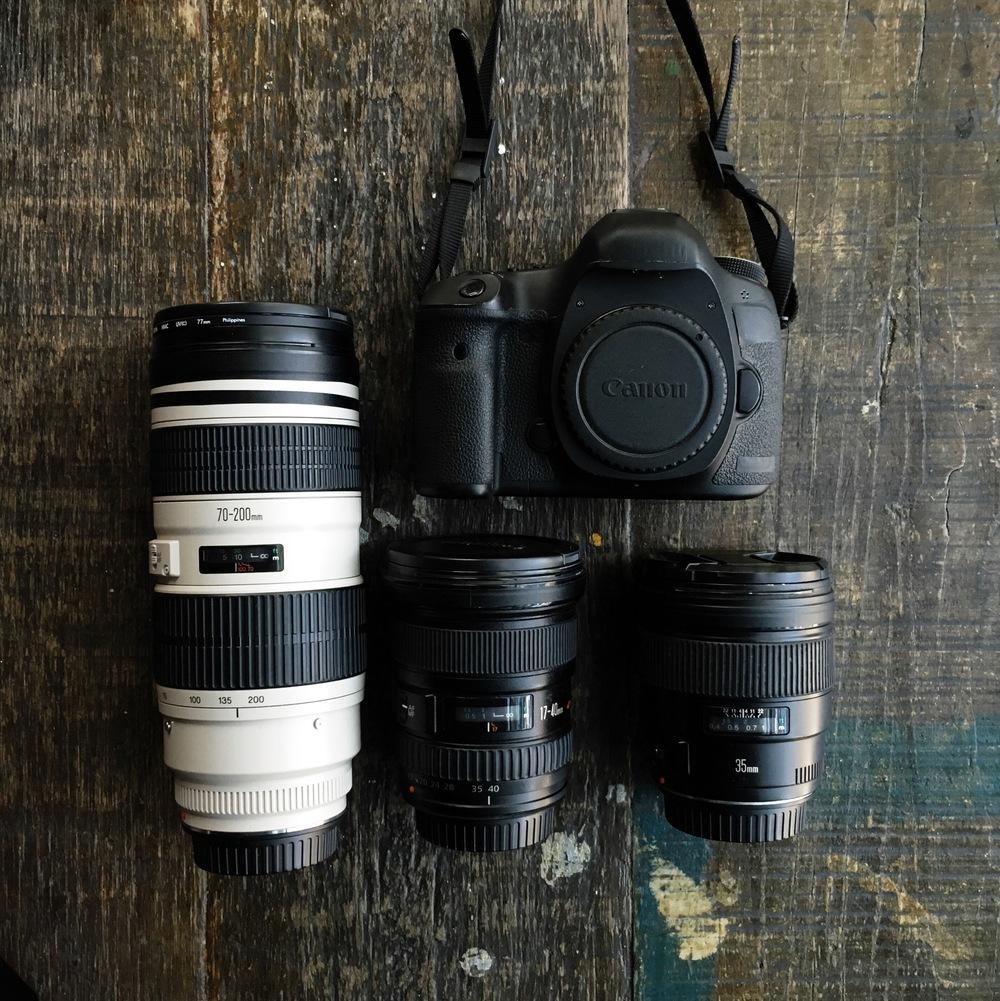 equipamento de fotografia de viagem eduardo e monica