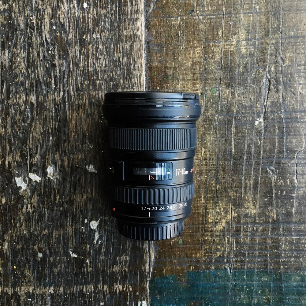 17-40mm equipamento de fotografia de viagem