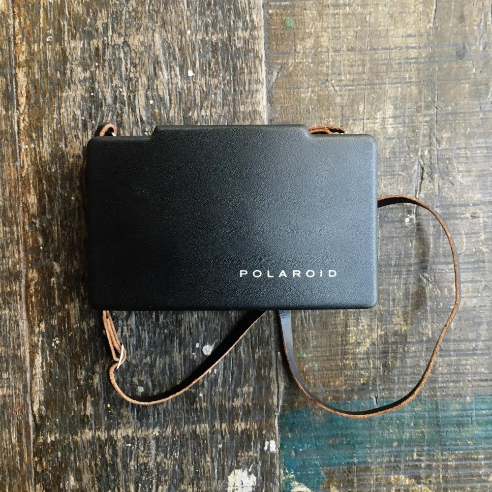 polaroid 100 equipamento de fotografia de viagem