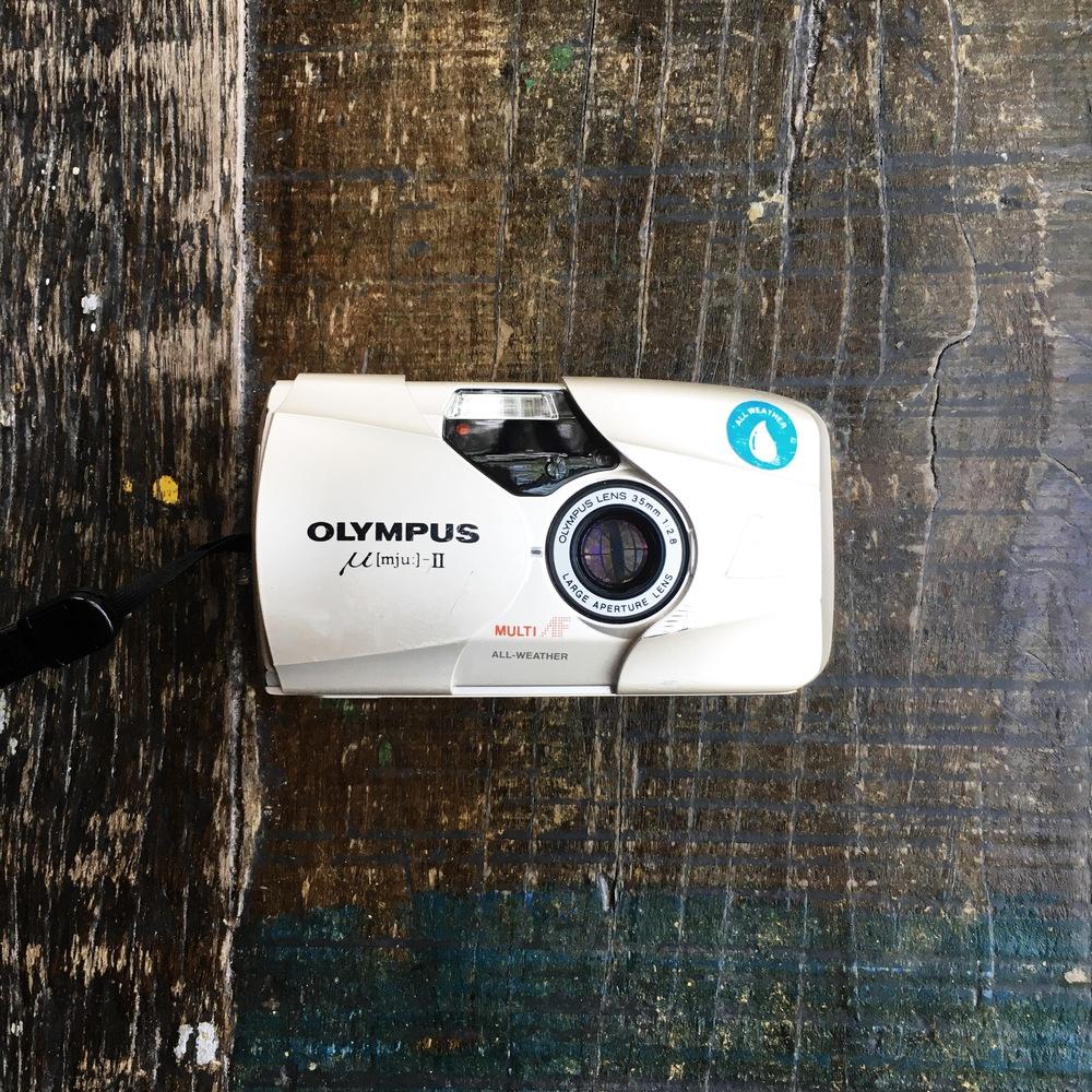 olympus filme equipamento de fotografia de viagem