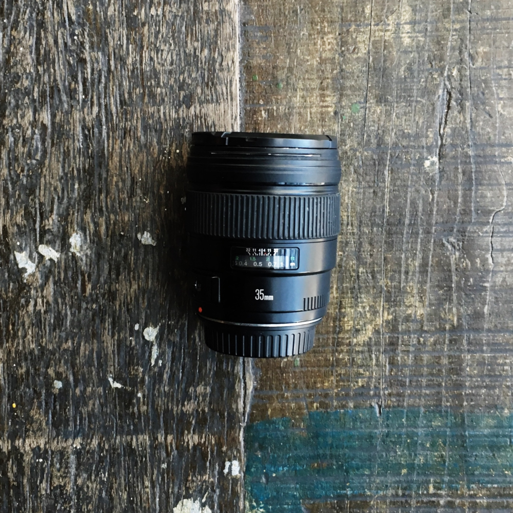 35mm equipamento de fotografia de viagem