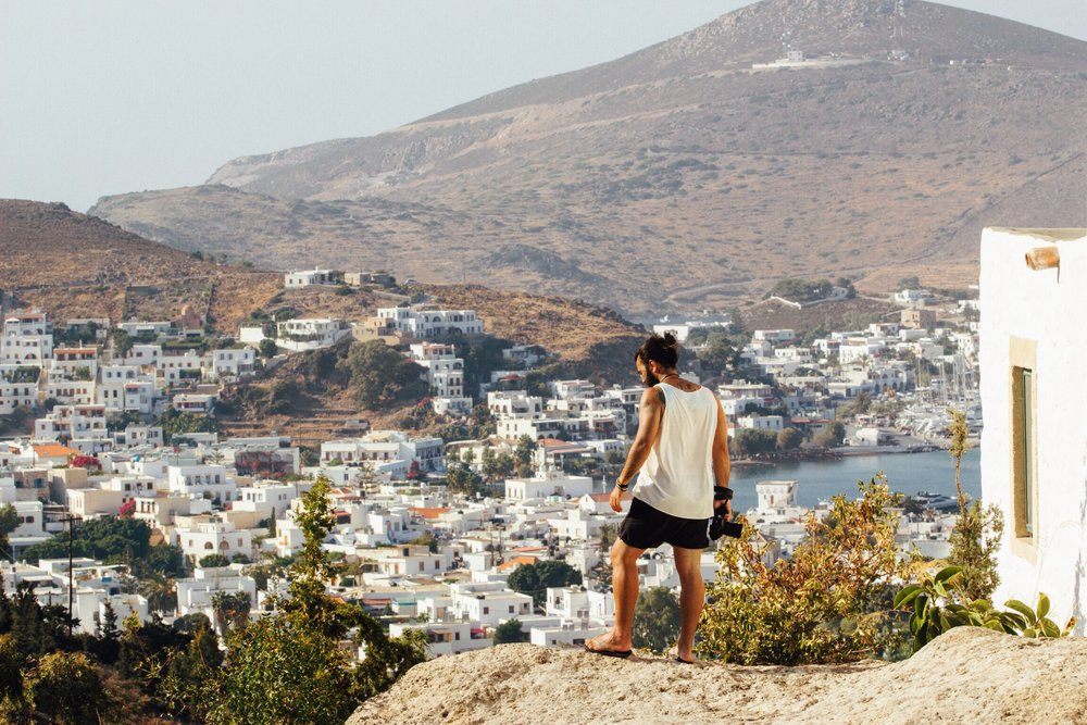 ilha patmos grecia