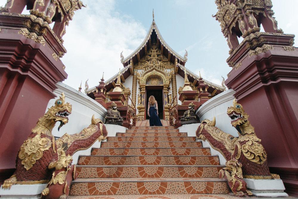Mônica em Chiang Mai