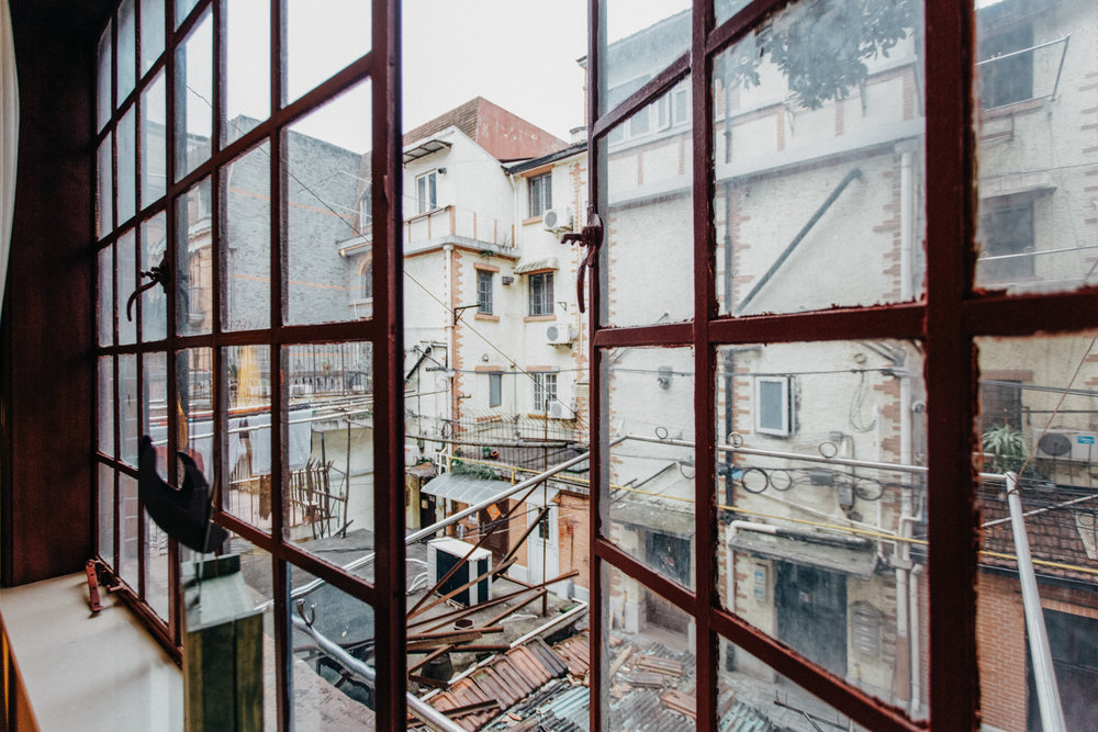 shanghai through windows
