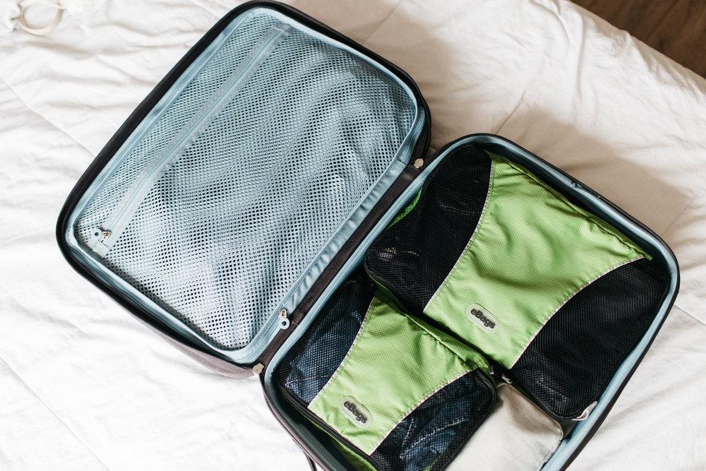 saco organizador mala mochila