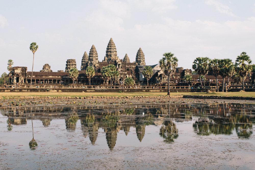 angkor wat siem reap camboja