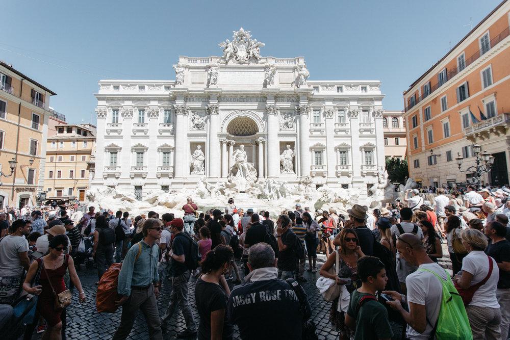 MULTIDAO:Fontana di Trevi, Roma