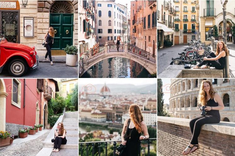 Itália: 18 dias, 7 cidades, 1 macacão
