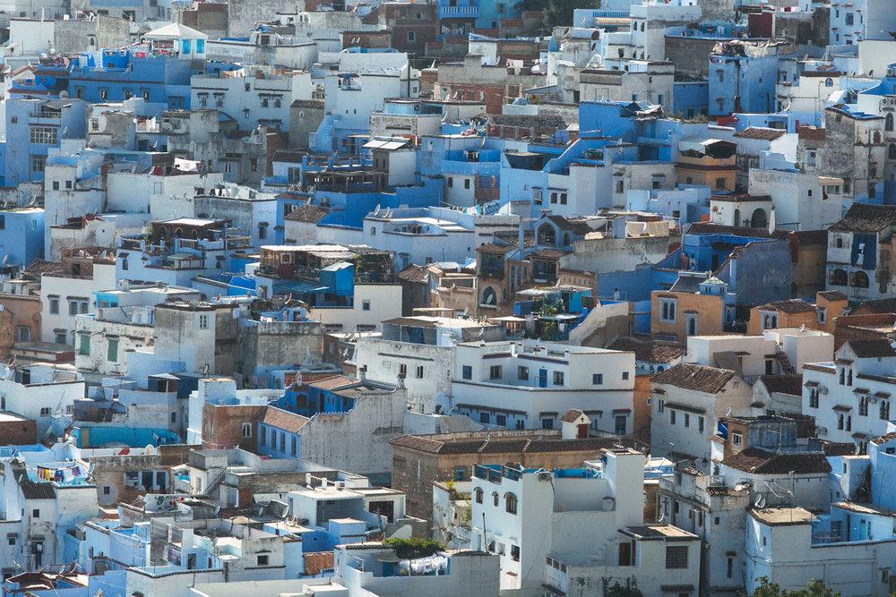 chefchaouen marrocos cidade azul