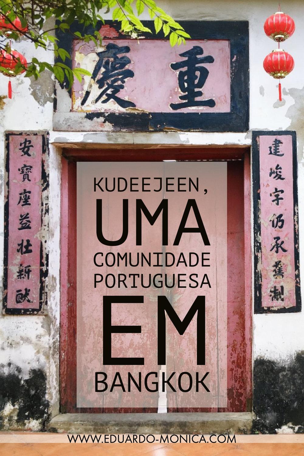 Kudeejeen, Uma Comunidade Portuguesa em Bangkok