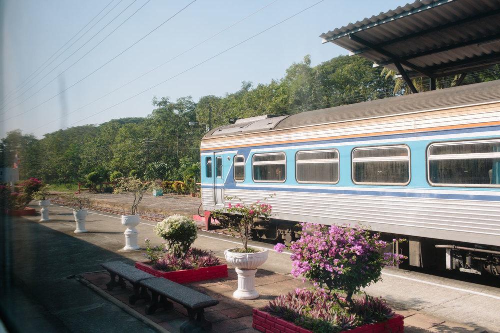 Bangkok para Chiang Mai de Trem