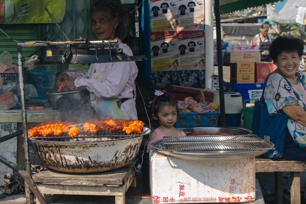 O melhor frango de Khlong Toei