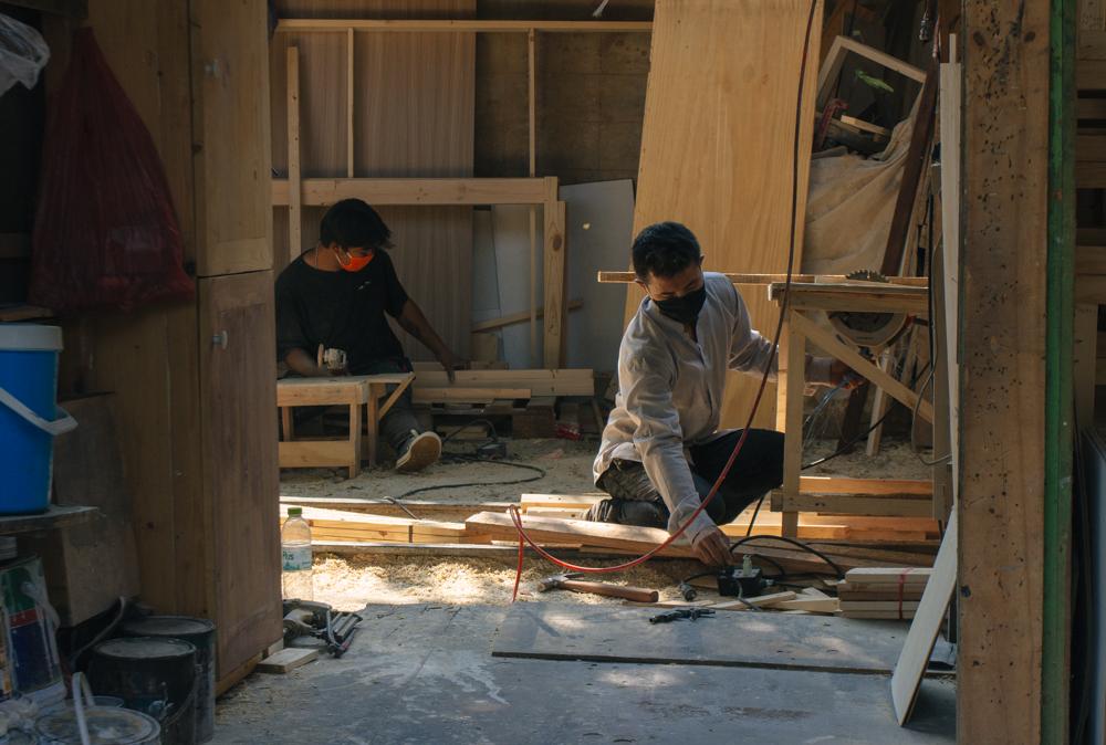 Marceneiros de Khlong Toei