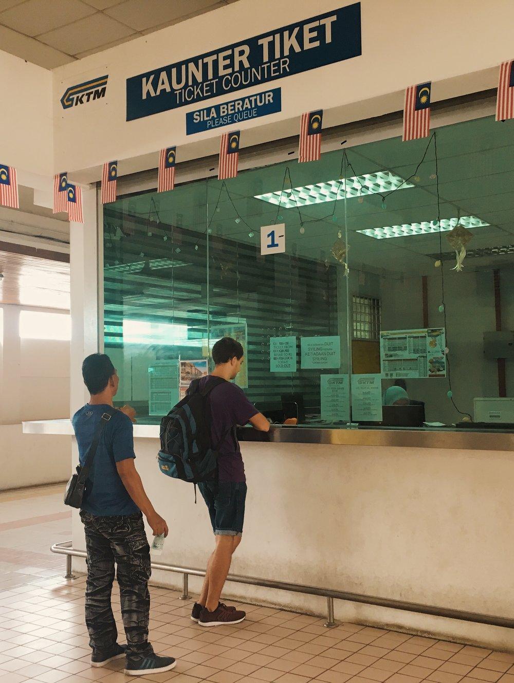 Guichê em Padang Besar