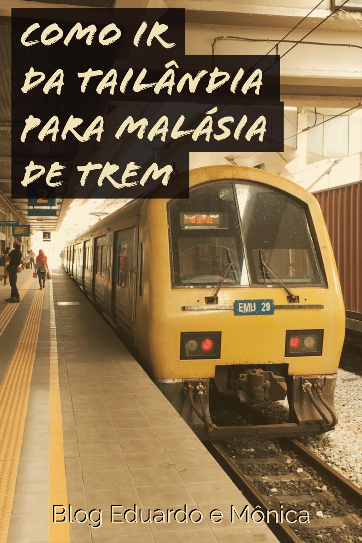 ir malasia tailandia trem